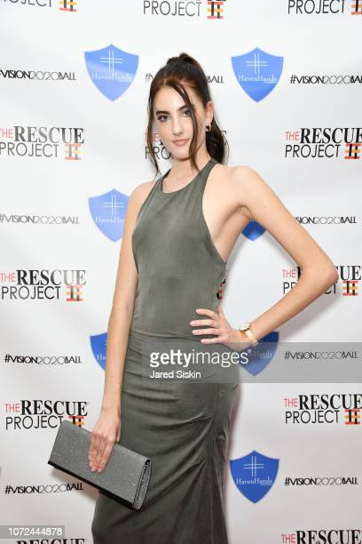 Jenny Henken attends Vision 2020 BALL By The Rescue Project / Haven Hands Inc on December 12 2018 in New York City
