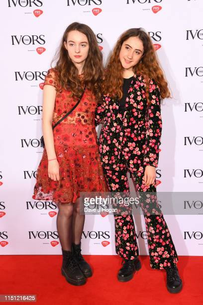 Jenny Hollingworth and Rosa Walton attend The Ivors 2019 at Grosvenor House on May 23, 2019 in London, England.