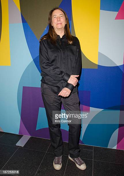 Jenny Holzer attends Art In Embassies 50th Anniversary Celebration at Smithsonian National Museum Of American History on November 30 2012 in...