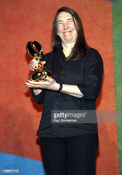 Jenny Holzer attends the 2011 National Art Awards at Cipriani 42nd Street on October 17 2011 in New York City