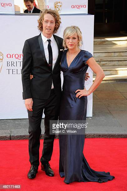 Jenny Jones attends the Arqiva British Academy Television Awards at Theatre Royal on May 18 2014 in London England