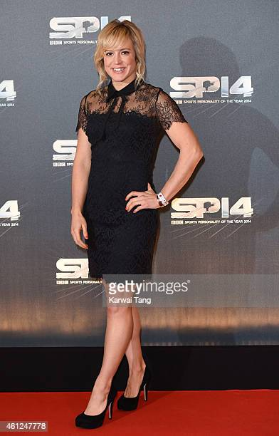 Jenny Jones attends the BBC Sports Personality of the Year awards at The Hydro on December 14 2014 in Glasgow Scotland