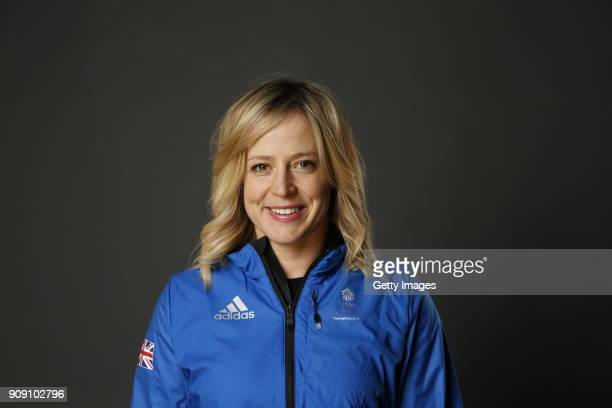 Jenny Jones poses during Team GB Kitting Out Ahead Of Pyeongchang 2018 Winter Olympic Games on January 22 2018 in Stockport England