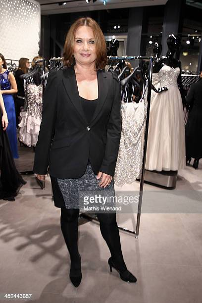 Jenny Juergens attend the Unique Flagship Store Opening at the new 'Koe Bogen' on November 28 2013 in Duesseldorf Germany