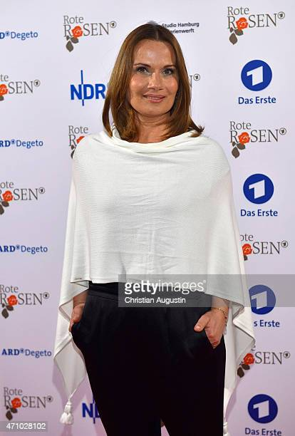 Jenny Juergens attends the celebration of 2000 episodes of 'Rote Rosen' at Ritterakademie on April 24 2015 in Lueneburg Germany