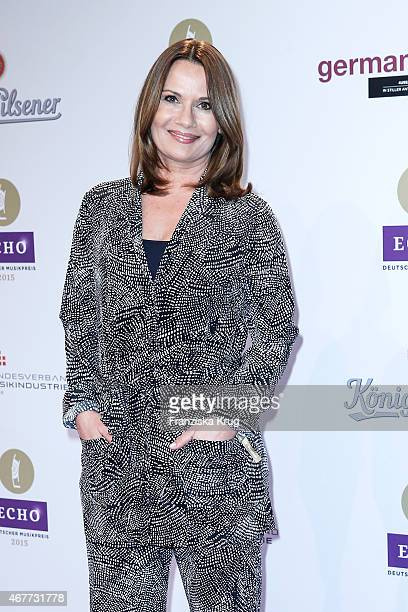 Jenny Juergens attends the Echo Award 2015 on March 26 2015 in Berlin Germany
