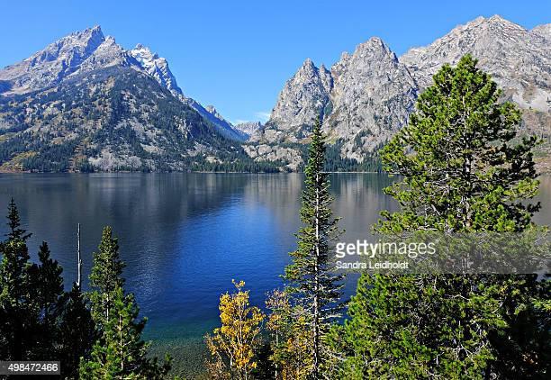 Jenny Lake in Wyoming's Grand Teton National Park