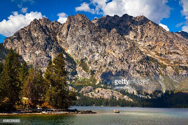 Jenny Lake With Grand Tetons in background