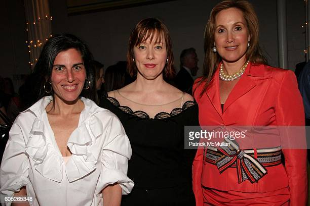 Jenny Lauren Suzanne Vega and Cheryl Milstein attend Barnard College 2006 Spring Party and Auction at The Puck Building on May 8 2006 in New York City