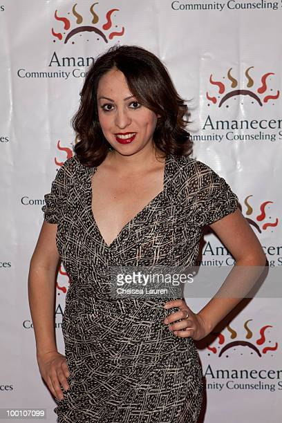 Jenny Leeser arrives at the City Night Lights Cocktail Party at Los Angeles City Hall on May 20 2010 in Los Angeles California