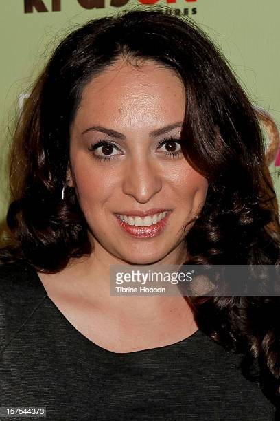 Jenny Leeser attends the Delhi Safari Los Angeles premiere at Pacific Theatre at The Grove on December 3 2012 in Los Angeles California