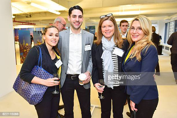 Jenny Lenz Adam Vanderbrook Carol Carbonetti and Dolly Lenz attend Commercial Observer The Future of Midtown East at 605 Third Avenue on November 9...