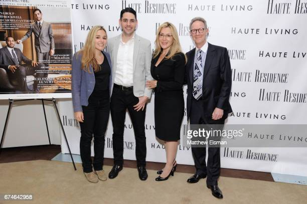 Jenny Lenz Adam Vanderbrook Dolly Lenz and Ian Bruce Eichner attend the Haute Residence 2017 Luxury Real Estate Summit at The Core Club on April 28...