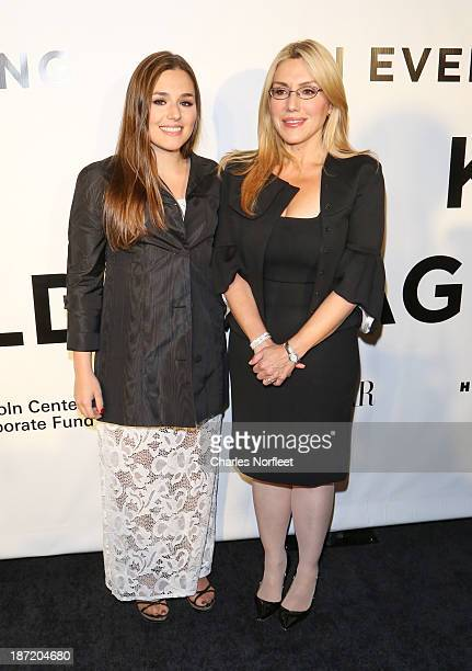 Jenny Lenz and Dolly Lenz attend An Evening Honoring Karl Lagerfeld at Alice Tully Hall on November 6 2013 in New York City