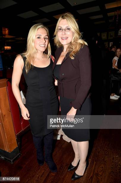 Jenny Lenz and Dolly Lenz attend NINETY YEARS OF GALLAGHERS New York's iconic steakhouse at Gallaghers Steakhouse on November 14 2017 in New York City