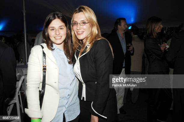 Jenny Lenz and Dolly Lenz attend TASTE OF SUMMER A Benefit for THE CENTRAL PARK CONSERVANCY at The Bandshell in Central Park on June 3 2009 in New...