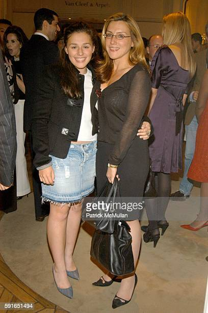 Jenny Lenz and Dolly Lenz attend YVES SAINT LAURENT and BERGDORF GOODMAN cocktail party to honor STEFANO PILATI at Bergdorf Goodman on November 1...