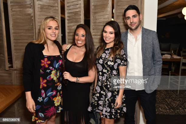 Jenny Lenz Jamie Widawsky Leslie Vanderbrook and Adam Vanderbrook attend AVENUE on the Beach Kicks off Summer 2017 at Calissa on May 27 2017 in Water...