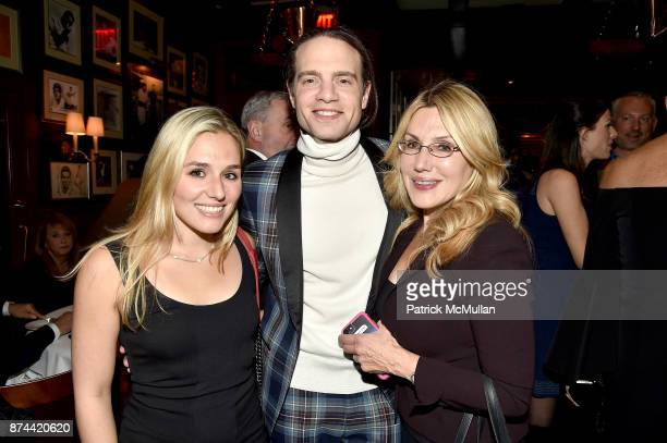 Jenny Lenz Jordan Roth and Dolly Lenz attend NINETY YEARS OF GALLAGHERS New York's iconic steakhouse at Gallaghers Steakhouse on November 14 2017 in...