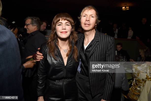 Jenny Lewis and Beck attend CORE Gala A Gala Dinner to Benefit CORE and 10 Years of LifeSaving Work Across Haiti Around the World at Wiltern Theatre...