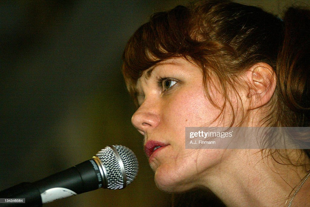 Jenny Lewis of Rilo Kiley during Rilo Kiley In-Store Appearance at Amoeba Records in Hollywood, California, United States.