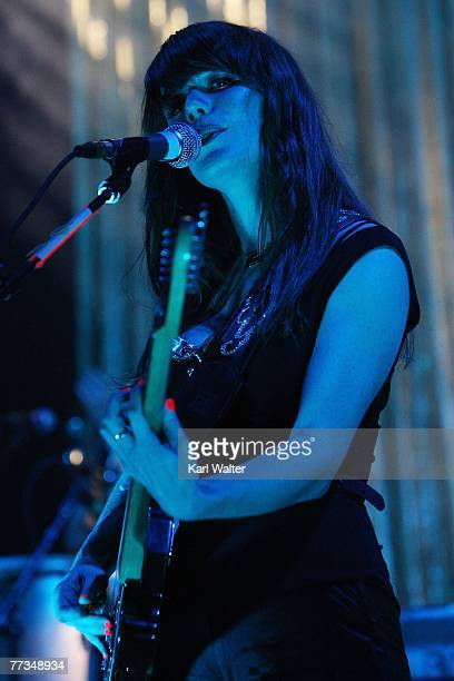 Jenny Lewis of Rilo Kiley performs at the Santa Monica Civic Center on October 15 2007 in Santa Monica California