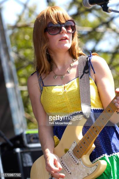 Jenny Lewis of Rilo Kiley performs during day three of the Austin City Limits Music Festival at Zilker Park on September 24, 2005 in Austin, Texas.