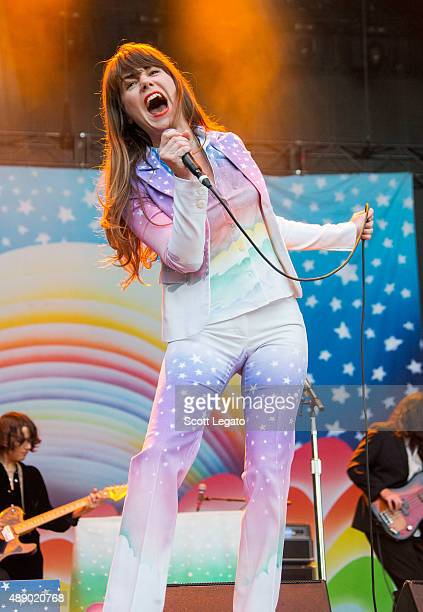 Jenny Lewis performs at Piedmont Park during day 1 of Music Midtown on September 18 2015 in Atlanta Georgia