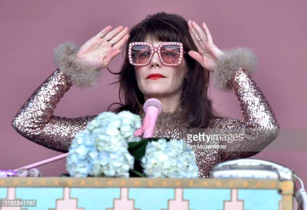 Jenny Lewis performs during BottleRock Napa Valley 2019 at Napa Valley Expo on May 24 2019 in Napa California