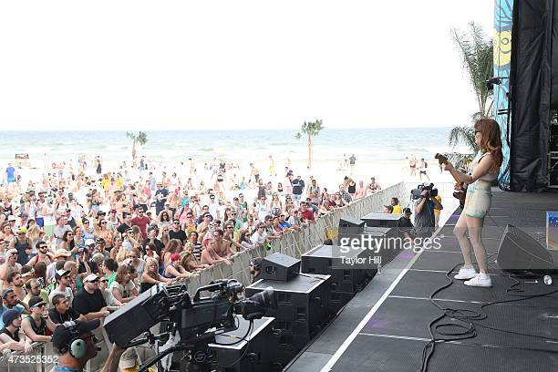 Jenny Lewis performs during the 2015 Hangout Music Festival on May 15 2015 in Gulf Shores Alabama