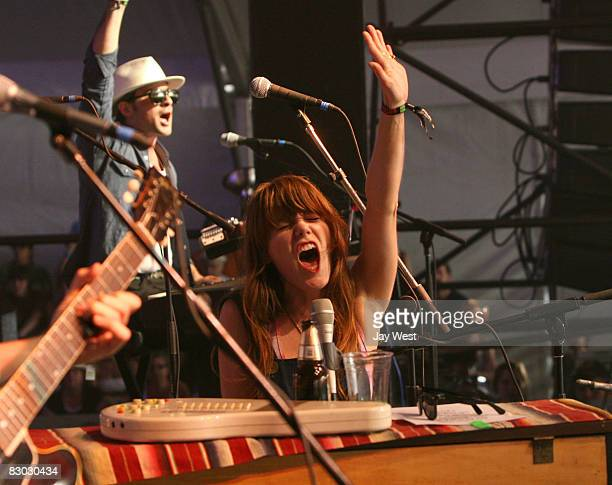 Jenny Lewis performs in concert on Day One of Austin City Limits Festival held at Zilker Park on September 26, 2008 in Austin, Texas