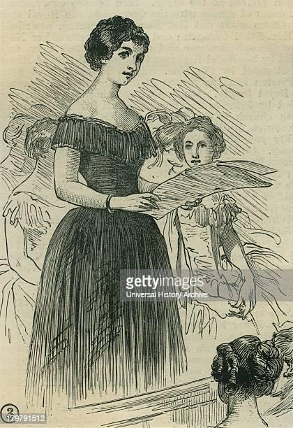 Jenny Lind the Swedish Nightingale singing in Exeter Hall