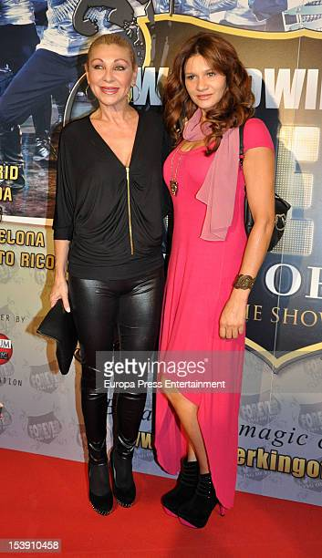 Jenny Llada attends 'Forever King of Pop' Premiere on October 10 2012 in Madrid Spain