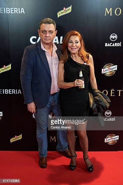 Jenny Llada attends the Pacha El Arquitecto De La Noche documentary premiere at the Capitol cinema on May 25 2015 in Madrid Spain