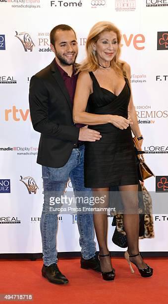 Jenny Llada attends XVII Iris TV Awards 2015 gala at Gran Casino on October 22 2015 in Aranjuez Spain
