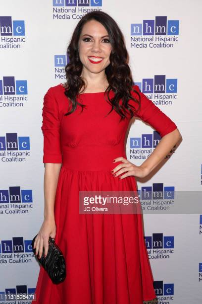 Jenny Lorenzo attends the 22nd Annual National Hispanic Media Coalition Impact Awards Gala at Regent Beverly Wilshire Hotel on February 22 2019 in...