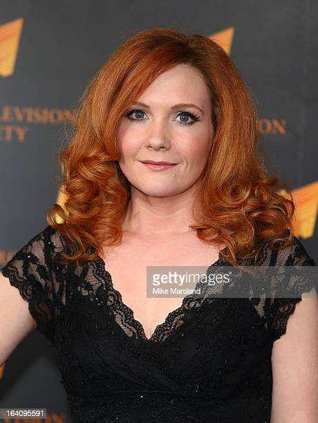 Jenny McAlpine attends the RTS Programme Awards at Grosvenor House on March 19 2013 in London England