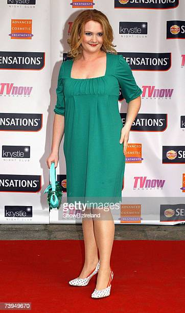 Jenny McAlpine attends the TV NOW Awards ceremony held at The Mansion House on April 21, 2007 in Dublin, Ireland.