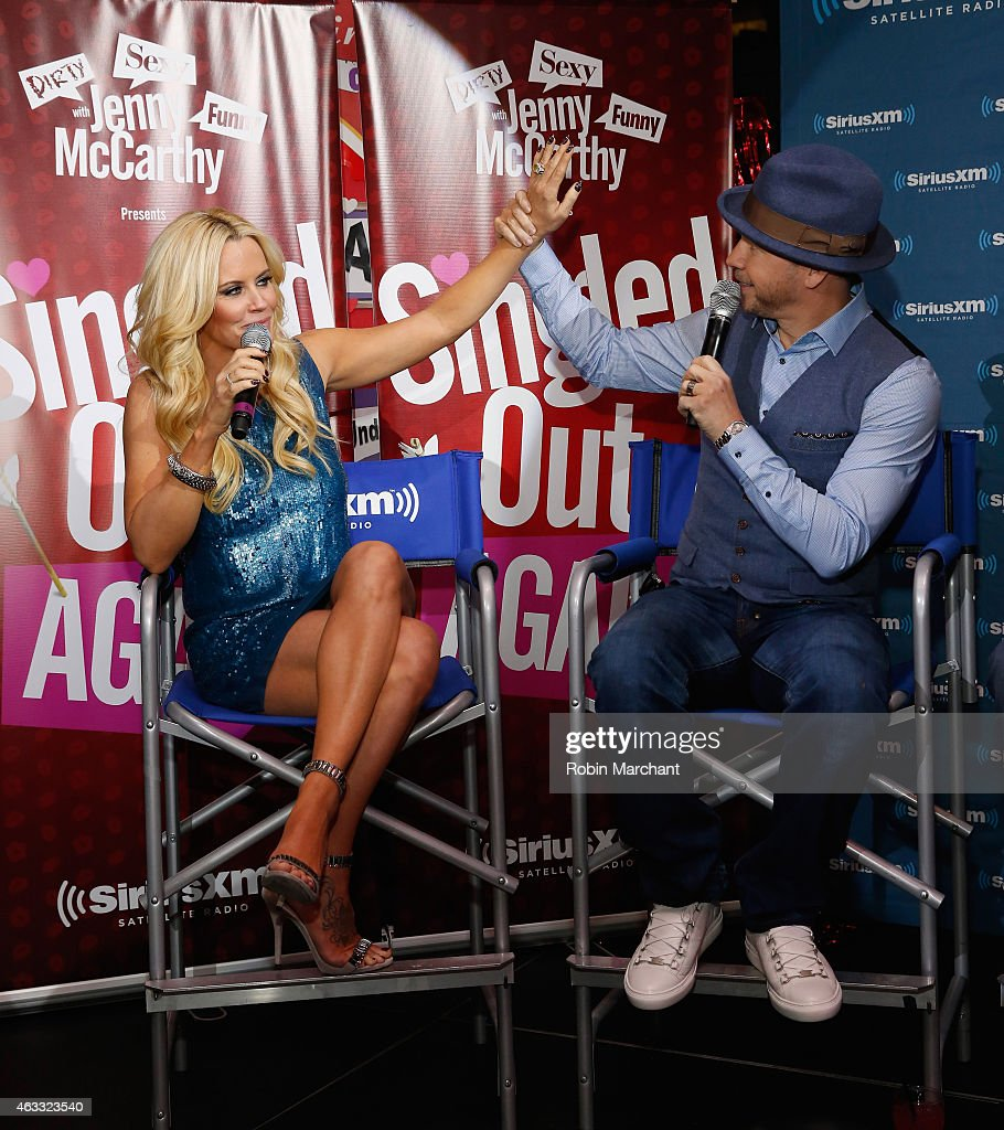 "Jenny McCarthy Hosts ""Singled Out...Again"" On Her Exclusive SiriusXM Show, ""Dirty, Sexy, Funny With Jenny McCarthy"" : News Photo"