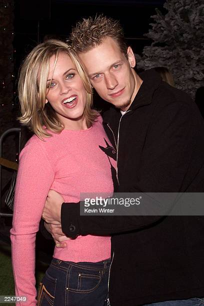 Jenny McCarthy and her husband John Asher at the premiere of 'Dr Seuss' How The Grinch Stole Christmas' at the Universal Amphitheatre in Los Angeles...