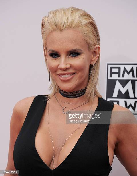 Jenny McCarthy arrives at the 2016 American Music Awards at Microsoft Theater on November 20 2016 in Los Angeles California