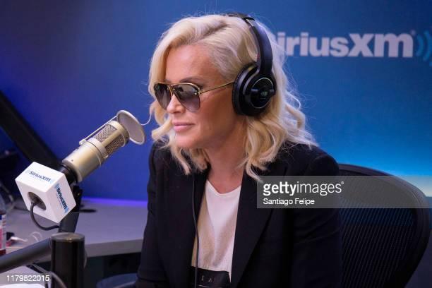 Jenny McCarthy at SiriusXM Studios on October 08, 2019 in New York City.