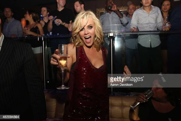 Jenny McCarthy attends after party for Dirty Sexy Funny at E11EVEN on July 12 2014 in Miami Florida