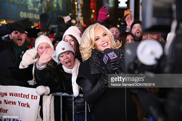 Jenny McCarthy attends Dick Clark's New Year's Rockin' Eve with Ryan Seacrest 2015 on December 31 2014 in New York City