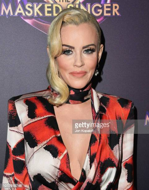 Jenny McCarthy attends Fox's The Masked Singer Premiere Karaoke Event at The Peppermint Club on December 13 2018 in Los Angeles California