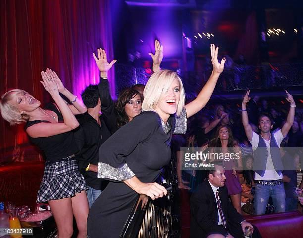 COVERAGE*** Jenny McCarthy attends LAX Nightclub Las Vegas grand opening weekend on September 2 2007 in Las Vegas Nevada
