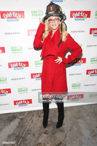 Jenny McCarthy attends the 2013 Care To Feed The Hungry Canned Food Drive at Battalion 8 on December 12 2013 in New York City