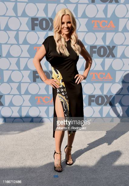 Jenny McCarthy attends the FOX Summer TCA 2019 AllStar Party at Fox Studios on August 07 2019 in Los Angeles California