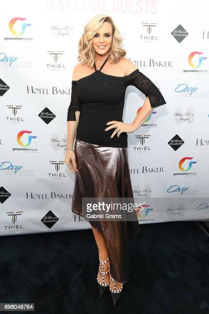 Jenny McCarthy attends the Go Home With Donnie Again event on June 19, 2017 in St. Charles, Illinois.