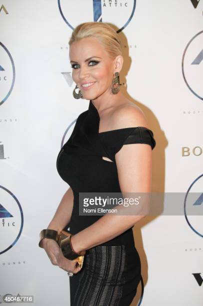 Jenny McCarthy attends the grand opening of The Attic Rooftop Lounge on June 11 2014 in New York City